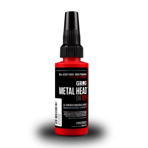 Grog Inks Metal Head